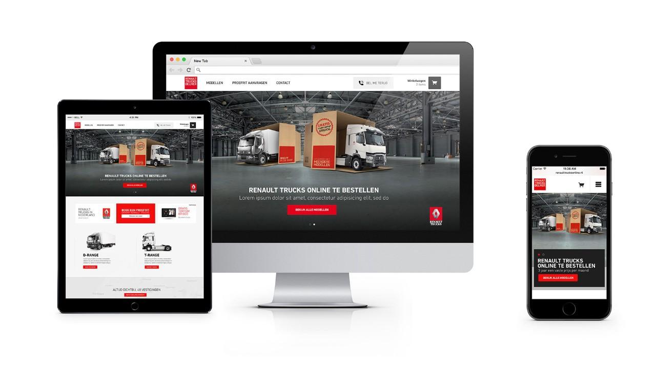 Koop uw truck online