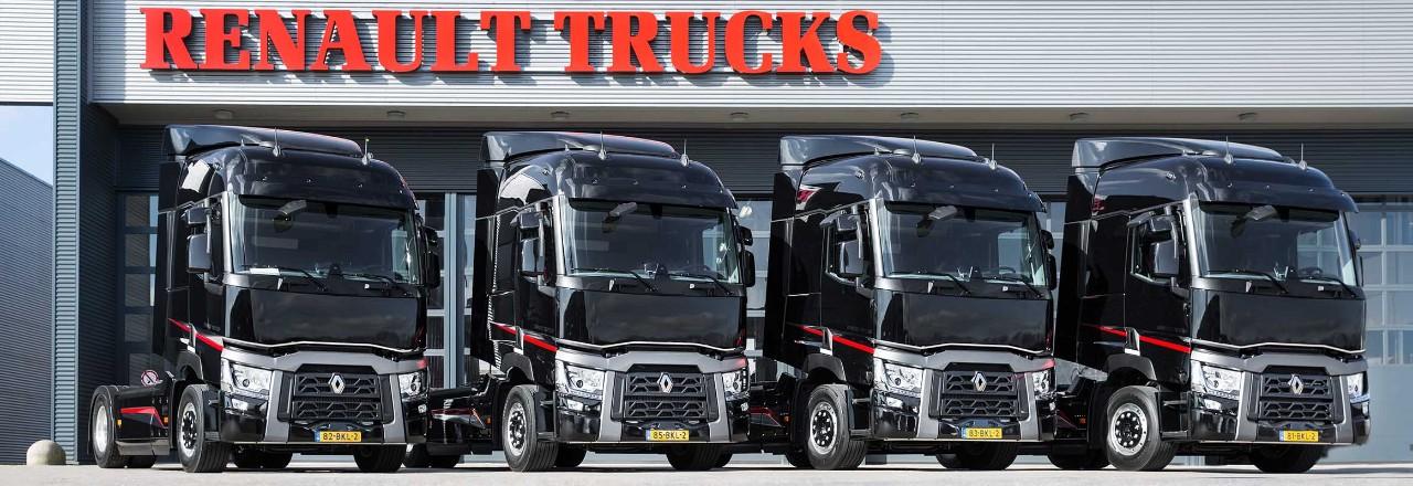 Huur een Renault Truck