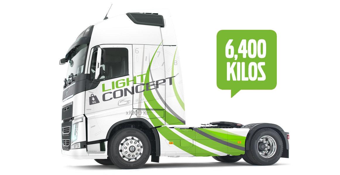 Volvo FH light concept 6,400 Kilos